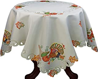 Best thanksgiving tablecloth round Reviews