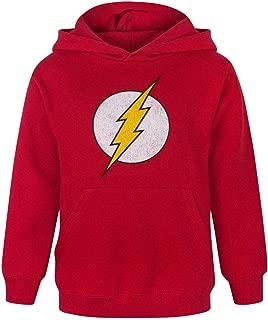Flash Distressed Logo Boy's Hoodie (7-8 Years)