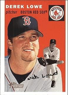 2003 Topps Heritage #349 Derek Lowe Red Sox MLB Baseball Card NM-MT