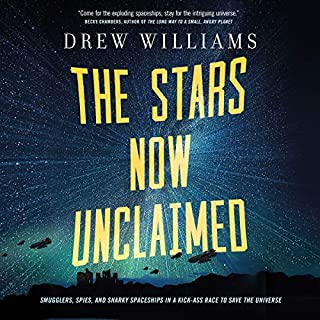 The Stars Now Unclaimed                   Written by:                                                                                                                                 Drew Williams                               Narrated by:                                                                                                                                 Brittany Pressley                      Length: 14 hrs and 19 mins     1 rating     Overall 5.0