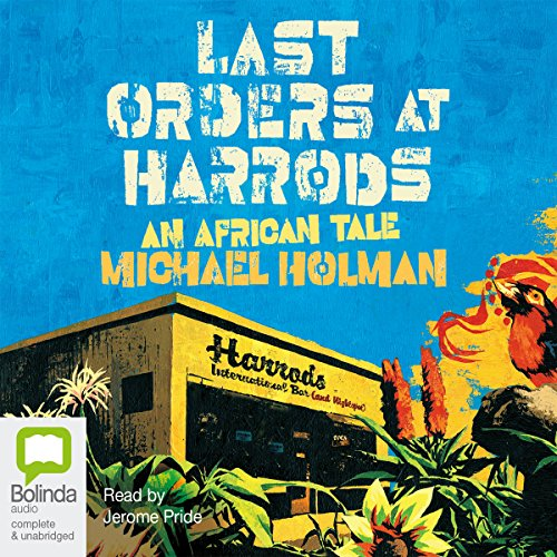 Last Orders at Harrods audiobook cover art
