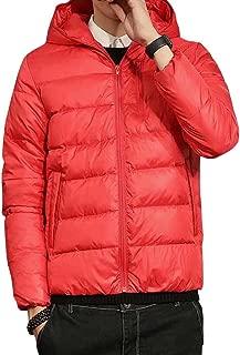 Wxian Men's Lightweight Warm And Comfortable Down Jacket Coat