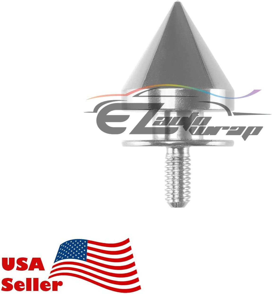 EZAUTOWRAP Gold Spiked Quick Release Fasteners for Car Bumpers Trunk Fender Hatch Lids Kit