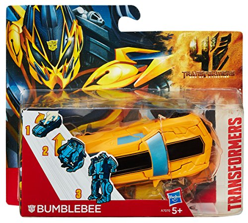 Transformers - A9867E240 - Figurine - Robot in Disguise - One-Step Magic - Bumblebee