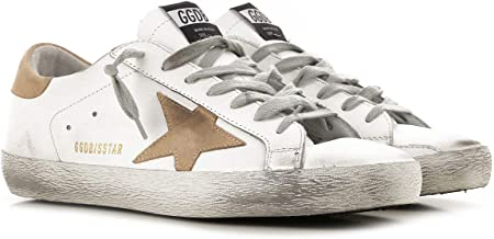 Golden Goose Deluxe Brand Superstar Mens Sneaker in White G34MS590.N16 Shoe Size Mens: 40 EU - 7 US, Color: White