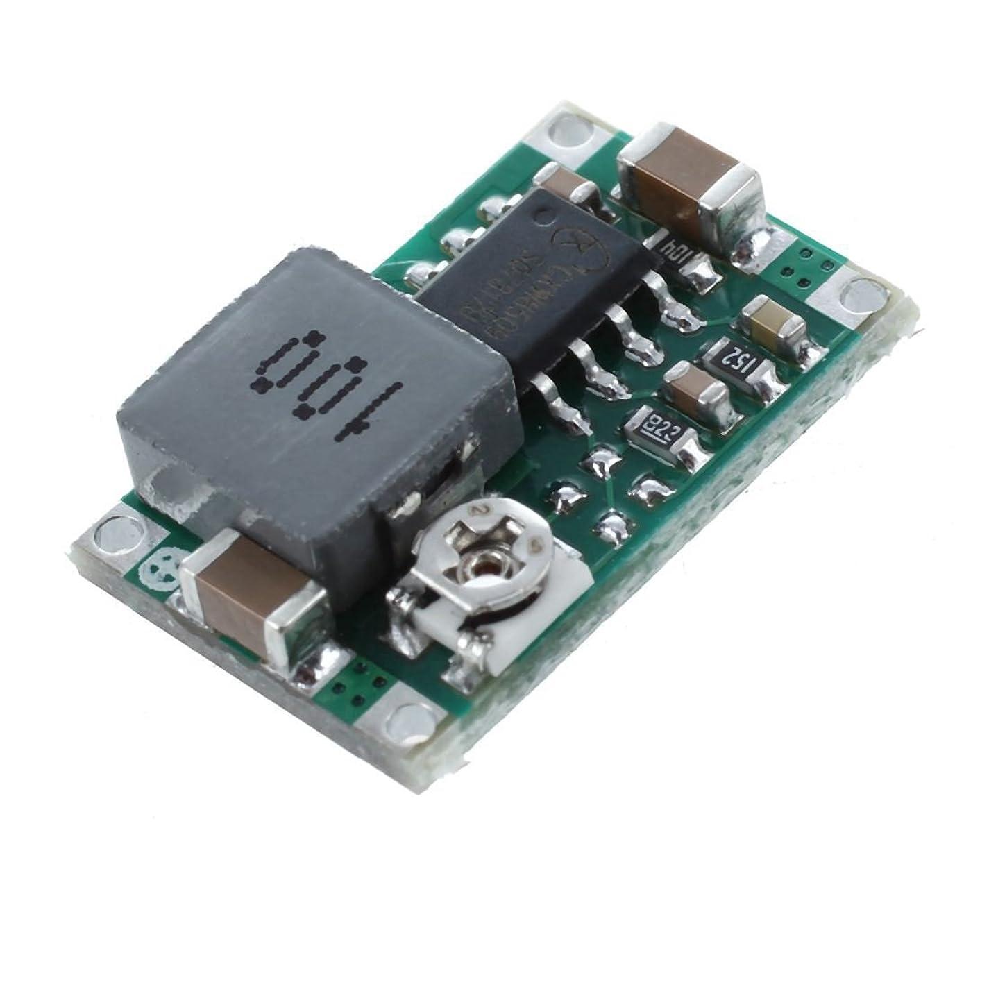 擬人化そのような異常なNrpfell 5xミニDC-DCコンバーター ステップダウンモジュール 調整できるパワー電源出力 1-17V