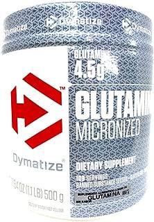 Dymatize Glutamine -- 500 g