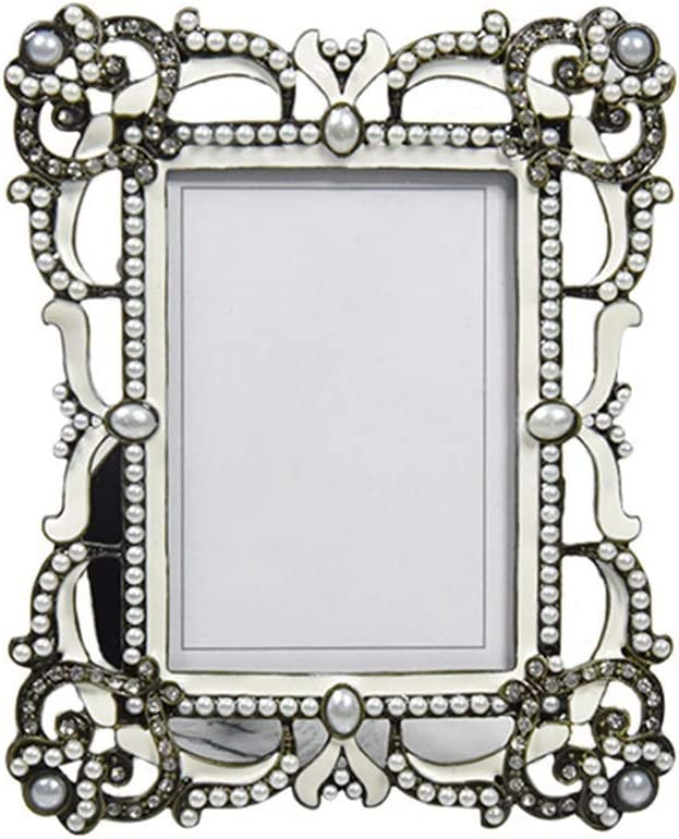 LUXMAX Beautiful New arrival 3.5 Inch Gothic Fr Free shipping New Metal Photo Vintage Creative