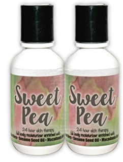 The Lotion Company 24 Hour Skin Therapy Lotion, Sweet Pea, 2 Count