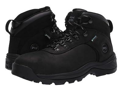 Timberland PRO Flume 6 Steel Safety Toe Waterproof (Black) Men