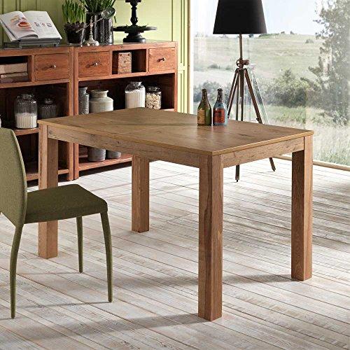 Pharao24 Holztisch aus Esche ausziehbar