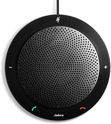 wholesale Jabra Speak online 410 Corded Speakerphone for Softphones online sale – Easy Setup, Portable USB Speaker for Holding Meetings Anywhere with Outstanding Sound Quality sale