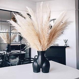 AMITD Body vaas keramische vazen billen bloemenvaas abstract boho billen decoratie (zwart)