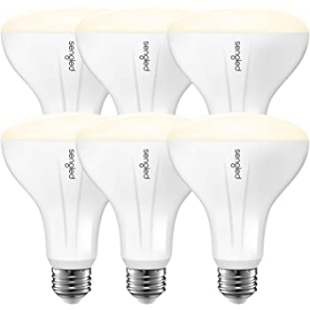 Sengled Smart Light Bulb Works with Alexa and Google Home, BR30 Dimmable Soft White 2700K, Alexa Light Bulbs 65W Equivalent, 650 Lumen LED Light Bulbs with E26 Base, 2.4G and 5G, Hub Required, 6 Pack