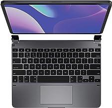 Brydge Pro+ Wireless Keyboard with Trackpad for iPad Pro 12.9-inch (2020 & 2018) | Aluminum Wireless Bluetooth 5.0 Keyboar...