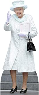 Queen Elizabeth Lifesize Standup Cardboard Cutouts 68 x 24in