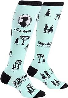 Sock It to Me, Socks & Sensibility, Women's Knee-High Funky Socks, Book Socks