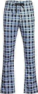 Hattfart Men Casual Cotton Sports Trousers Joggers Sweatpants Pants Loose Comfy Pant Gym Slim