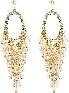 Pendientes Cool wind super fairy pendientes exquisita moda popular clásico temperamento estilo largo personalidad exagerad...