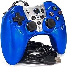 Controle Joystick Com Fio Usb Para Playstation 3 Play 3 Feir Fr2120 Azul