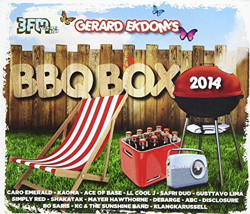 Various Artists - Gerard Ekdom's BBQ Box 2014