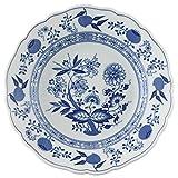 Hutschenreuther 02001-720002-10021 Zwiebelmuster Frühstücksteller, 21 cm mit Fahne, blau