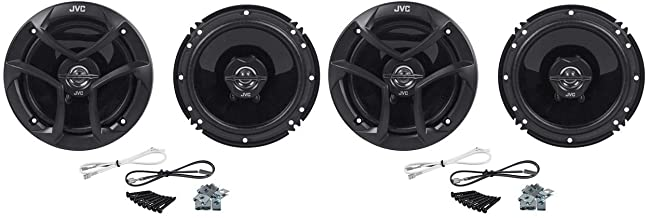 "JVC (2) CS-J620 Pairs of 6.5"" 2-Way Coaxial Car Speakers photo"