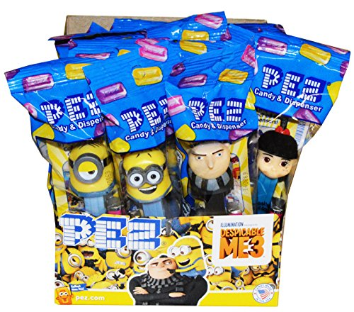 Pez Despicable Me 3 Pez Candy Dispensers (12 Pack)