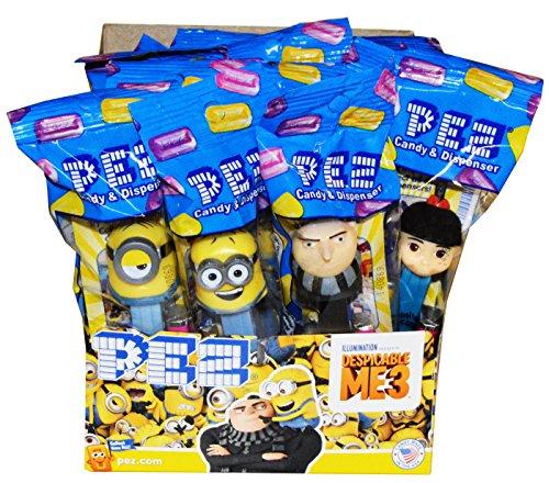 Pez Despicable Me 3 Pez Candy Dispensers (12 Pack)