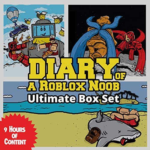 Amazon Com Diary Of A Roblox Noob Ultimate Box Set Books 1 7 Audible Audio Edition Robloxia Kid Tommy Jay Robloxia Kid Audible Audiobooks