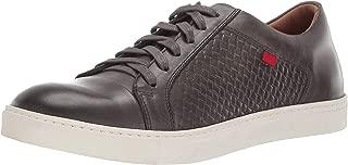 Mens Geuine Leather Waverly Street Criss Cross Sneaker