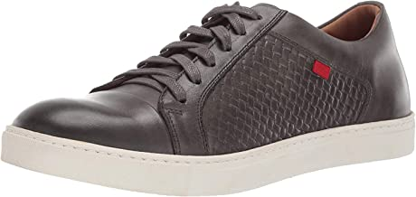 MARC JOSEPH NEW YORK Mens Geuine Leather Waverly Street Criss Cross Sneaker