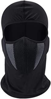 GRAPPLE DEALS Men's Full Face Mask Breathable Cotton Spandex For Bike Riding/Dust And Sun UV Rays. (Any Color -1 Pcs)