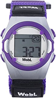 WobL - PURPLE 8 Alarm Vibrating Reminder Watch, Kids Watch