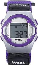 WobL - Purple Vibrating Reminder Watch | 8 Alarms |