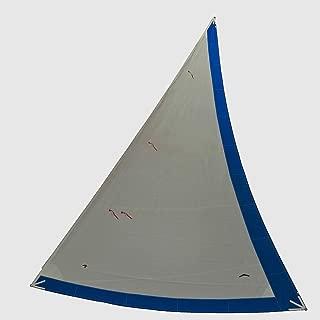 Catalina 22 Original Equipment Style 150% Furling Genoa with Sunbrella Pacific Blue UV Sun Cover