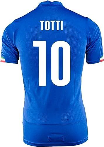 TOTTI   10 ITALIE MAISON JERSEY WORLD CUP 2014 (M)