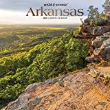 Arkansas Wild & Scenic 2020 12 x 12 Inch Monthly Square Wall Calendar with Foil Stamped Cover, USA United States of America Southeast State Nature (English, French and Spanish Edition)