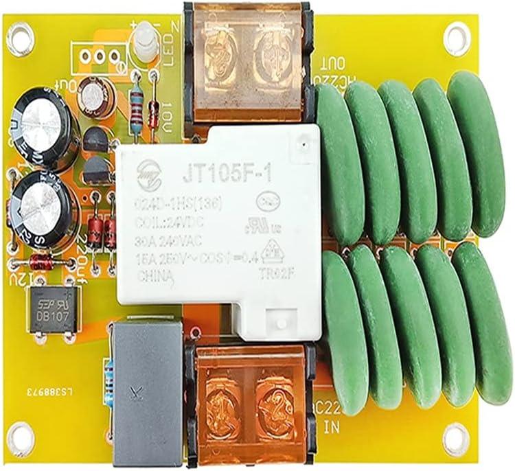 JYDQT Amplificador de Potencia de 5000w, Placa de Arranque Suave, Transformador de Aislamiento de Alta Potencia, arrancador Suave, Reduce el Impacto de la Corriente de Arranque
