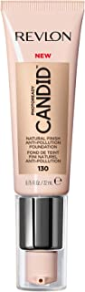 Revlon PhotoReady Candid Natural Finish Foundation, with Anti-Pollution, Antioxidant, Anti-Blue Light Ingredients, without Parabens, Pthalates and Fragrances; Ivory.75 Fluid Oz