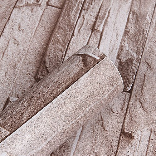 Autoadhesivo sint/ética piedra ladrillo patr/ón Contacto Papel Vinilo Decorativo Peel y Stick ladrillo papel pintado para pared decoraci/ón 45 x 1000 cm