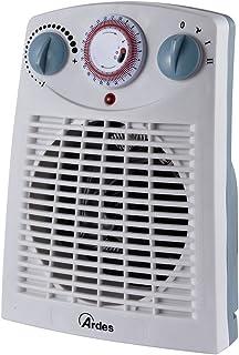 Ardes AR449TI Calentador de ventilador Interior Blanco - Calefactor (Calentador de ventilador, Interior, Blanco, Giratorio, 60 m³, 2000 W)