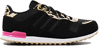 adidas Originals Womens Girls ZX 700 Casual Lace Up Trainers Shoes - Black