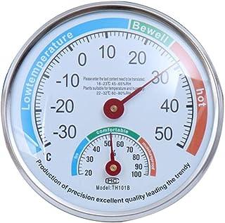 yummyfood Précision Thermomètre Hygromètre, Thermomètre Analogique Extérieur Intérieur, pour Jardin De Cour/Pépinière De S...