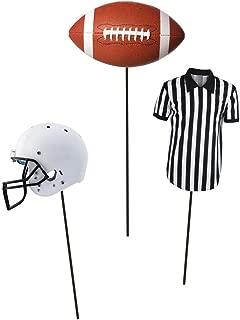 Creative Converting 102246 Football DIY Centerpiece Sticks, Assorted Sizes, Multi-color