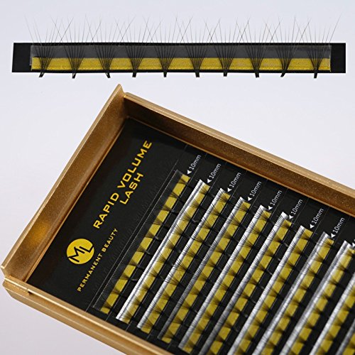 Extension de Cils 8D Volume Lashes pour Cils Extension Mélange 0,07mm C,D Curl - C, 9mm