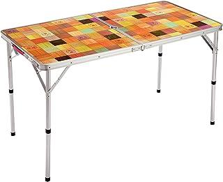 コールマン(Coleman) テーブル ナチュラルモザイクリビングテーブル 120プラス