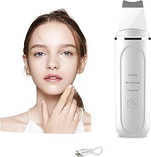 Cantik Ultraschallpeelinggerät,Skin Scrubber, Ultraschall-Peeling Porenreiniger, Akne-Entferner Ionen Hautreiniger für Gesichtsreinigung Gesichtspflege