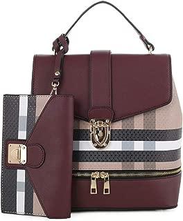 small plaid purse