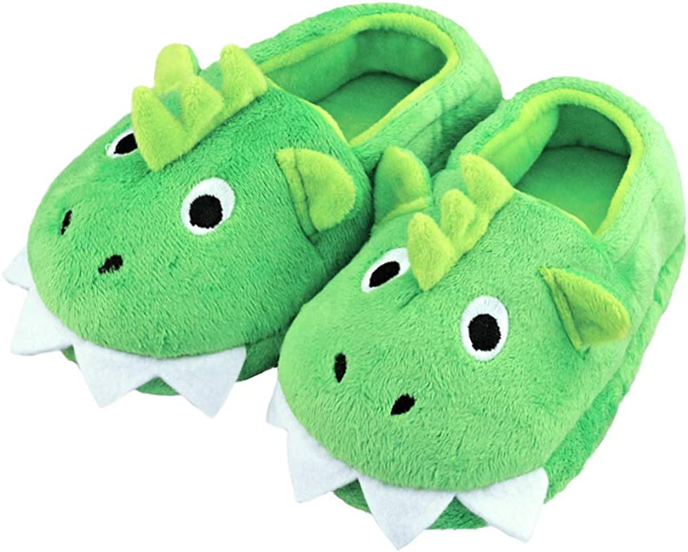 LA PLAGE Boys Direct store Toddler High quality Cute Monster Comfortabl Slippers Wave-Like